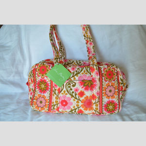 Classic 100 Style Bag in Folkloric Pattern NWT